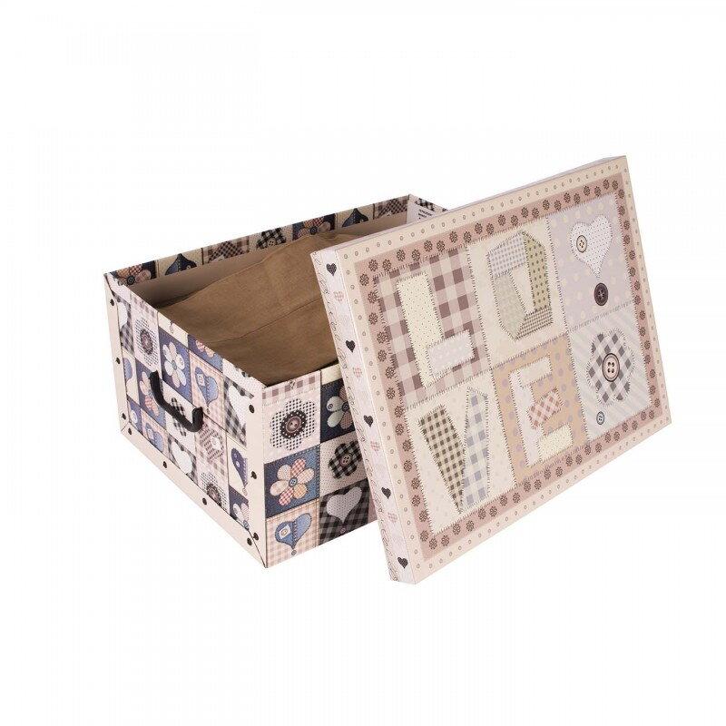83cbb70f3 Krabica úložná, dekoračná papierová, pevná